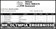 Mr. Olympia 2018: Ergebnisse & scorecards