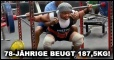 78-jährige Oma beugt 187,5 kg! [VIDEO]